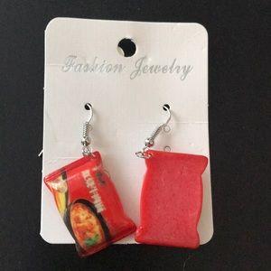 Jewelry - Ramen Noodle Earrings